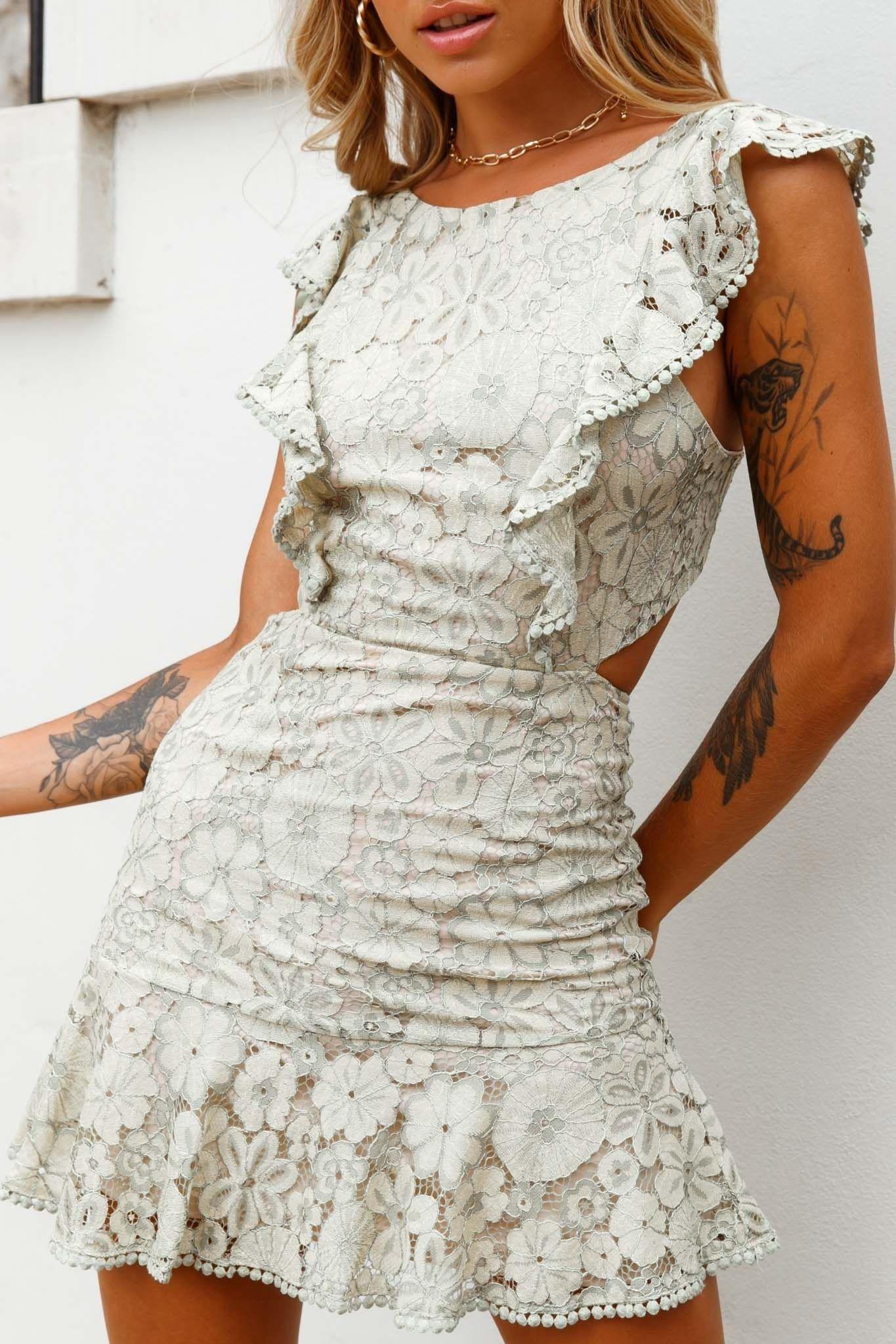 42++ Floral lace dress ideas