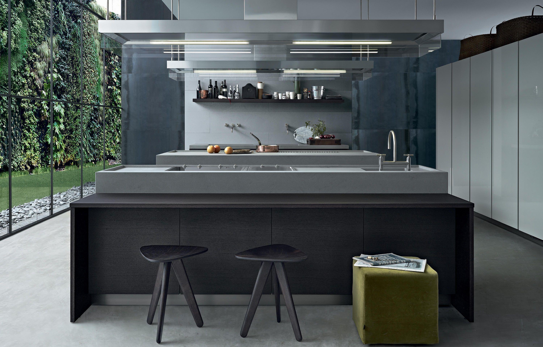 Minimal Island Kitchens From Varenna Poliform Architonic Kitchen Fittings Modern Kitchen Design Kitchen Design