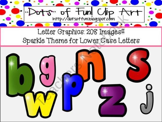 an alphabet that sparkles lowercase product from dots of fun clip rh pinterest com