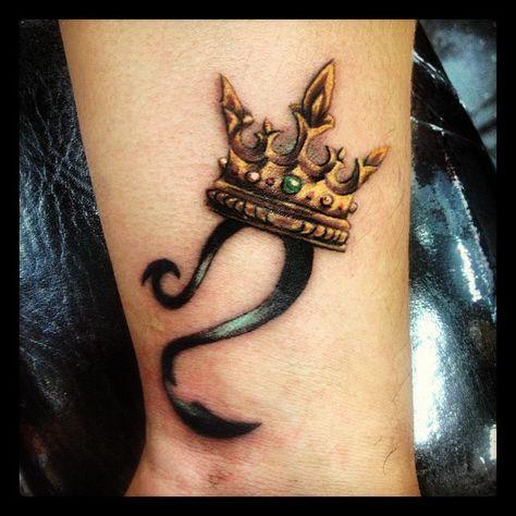 Idee Tattoo Signe Du Lion Sur Le Poignet Tatouage Signe Du