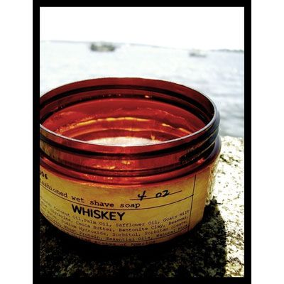 WHISKEY OLD-FASHIONED WET SHAVE SOAP