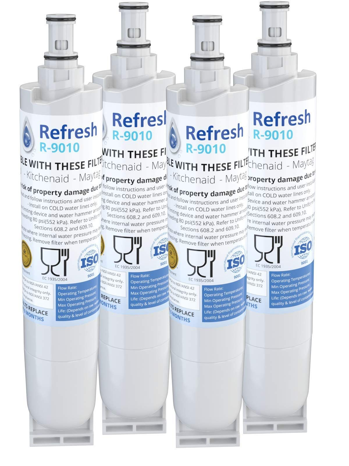 Refresh Replacement For Whirlpool 4396508 4396510 Edr5rxd1