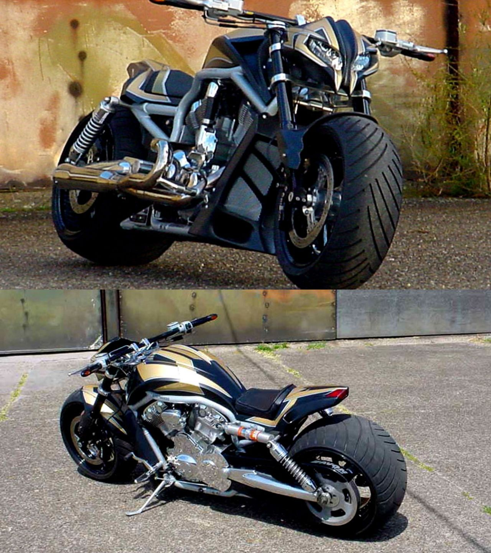 "Harley-Davidson V-Rod ""StreetFighter"" by Tecno-Bike ..."