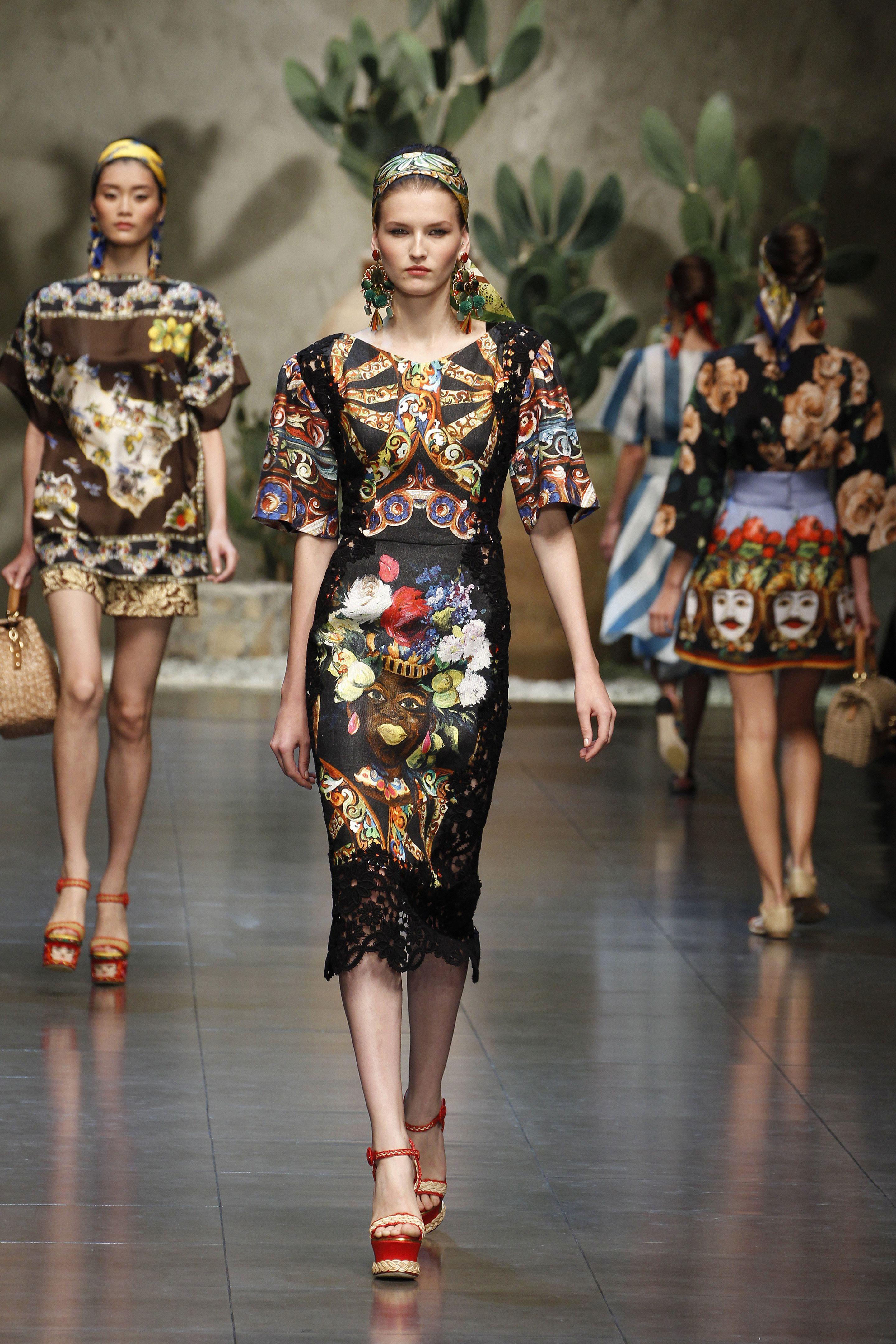 Dolce & Gabbana Fashion, Fashion show, Wearables fashion