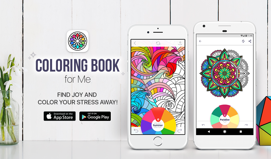 Coloring Book For Me Apalon Coloring Apps Coloring Books Color