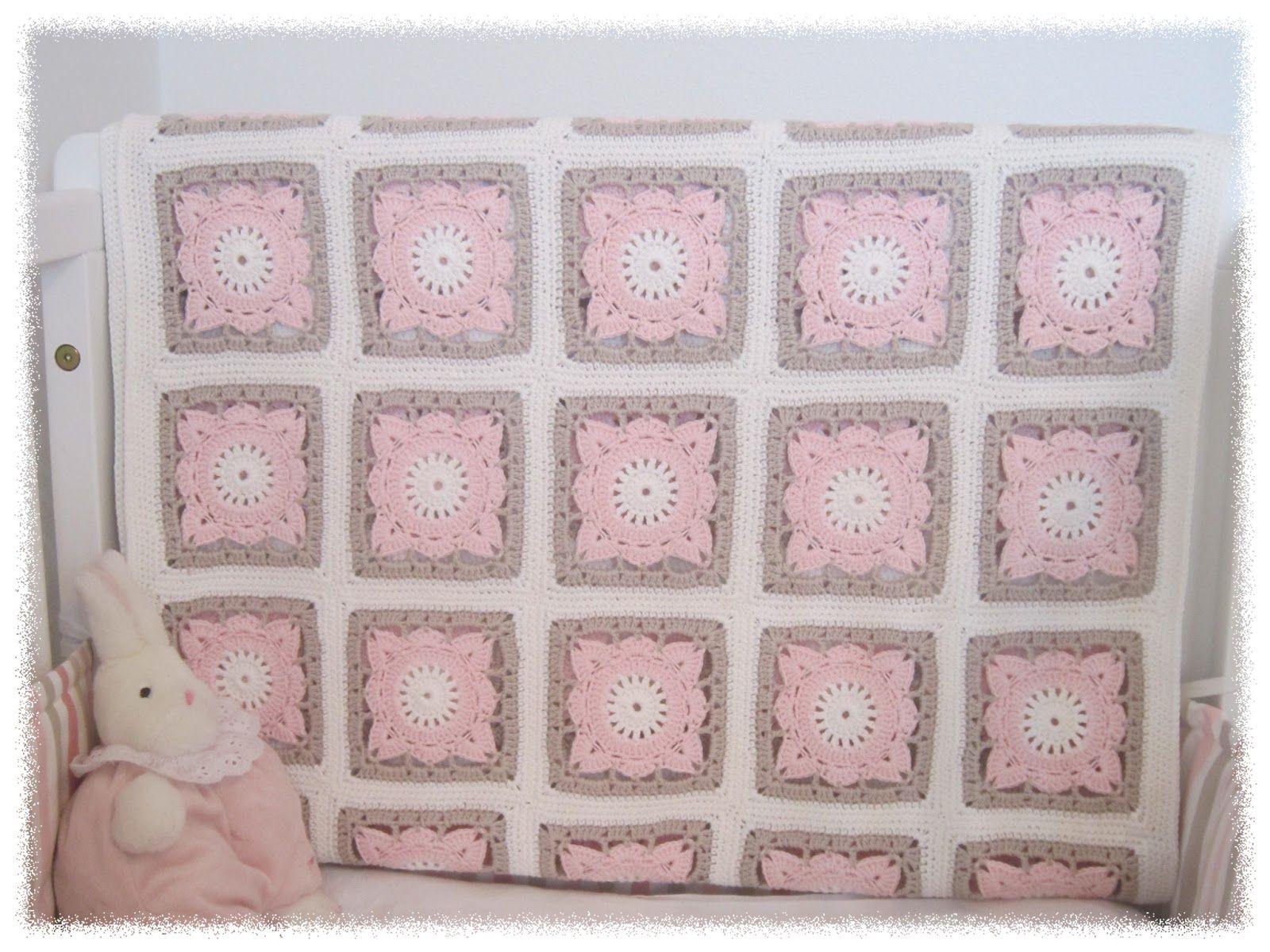 Prinsessajuttu: Vauvan virkattu peitto