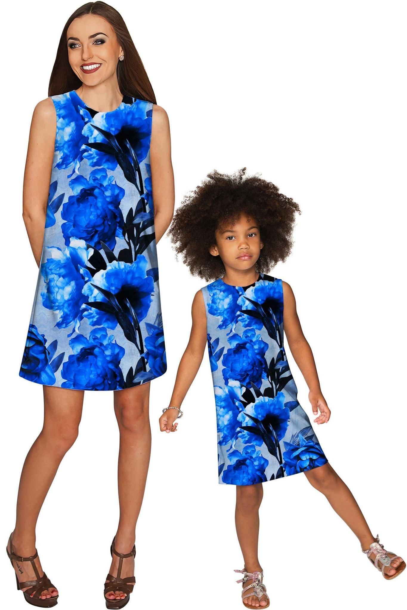 d24c797799 Mystery Adele Shift Party Mommy and Me Dress