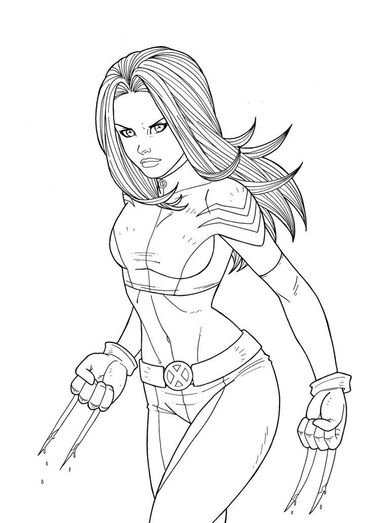 X 23 Commission By Jamiefayx Marvel Coloring Drawings Artist