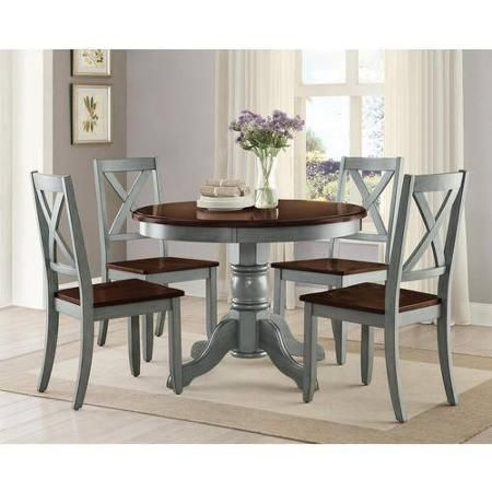 better homes and gardens dining table. Better Homes And Gardens Cambridge Place Dining Table, Blue - Walmart. Table S