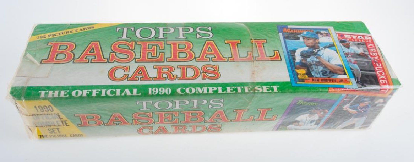 1990 Topps Baseball Cards Complete Set March 242018 Fine