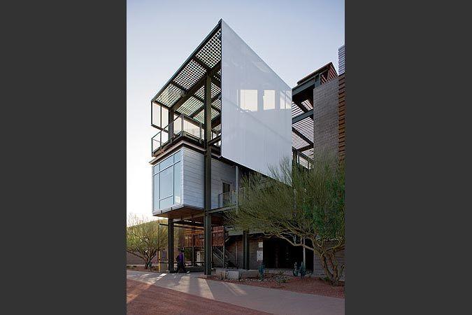 ASU Polytechnic Academy Buildings - Lake|Flato Architects