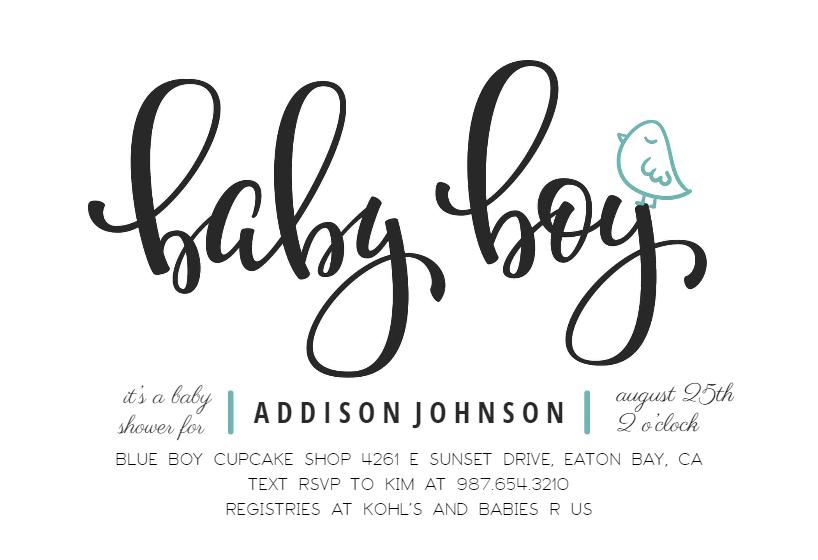 Baby Boy Baby Shower Invitation Template Free Greetings Island Boy Baby Shower Invitations Templates Baby Shower Invitations For Boys Baby Shower Invitations Design