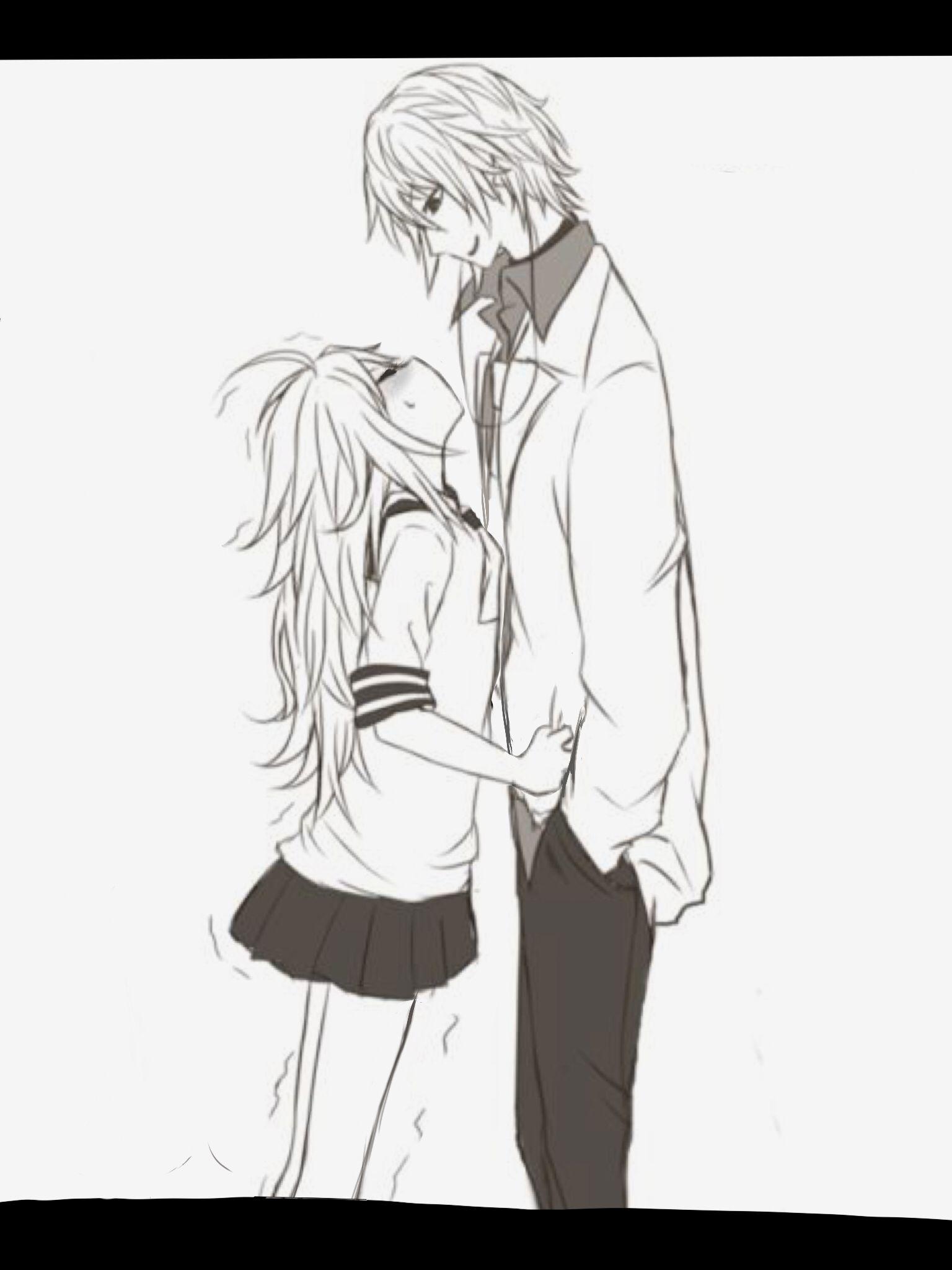 Casais Bonitos De Anime Amor Casal Meninas Baixas Meninos Animes Manga Arte Pesquisa Do Google Caras Altos