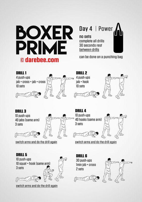 Boxer Prime: 30-Day Fitness Program   Fitness   Home boxing
