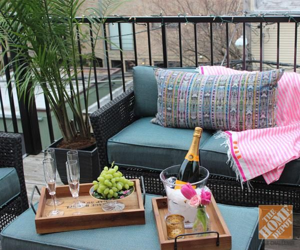 Patio Furniture For Apartments: A Small Urban Balcony: Patio Decorating Ideas By Alex