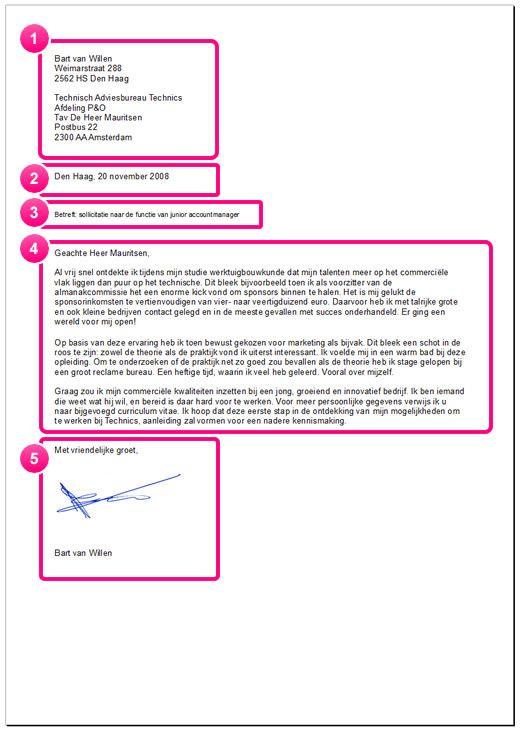 De Layout Van Een Sollicitatiebrief Sollicitatiegesprek Tips Sollicitatiebrieven Sollicitatiegesprek Vragen
