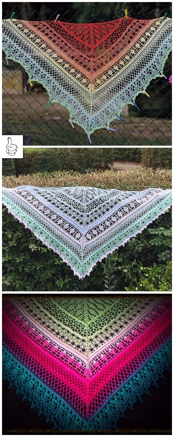 Crochet Shawl Patterns for Women All Seasons | Tücher und Häkeln