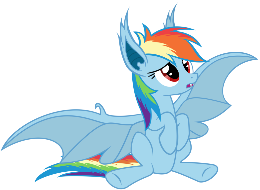 Rainbowbat - I want that apple! by Magister39 on deviantART