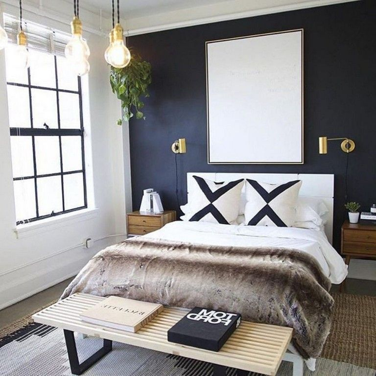 Scandinavian Modernbedroom Furniture: 65+ Cold Modern Bedroom Design That Will Inspire You