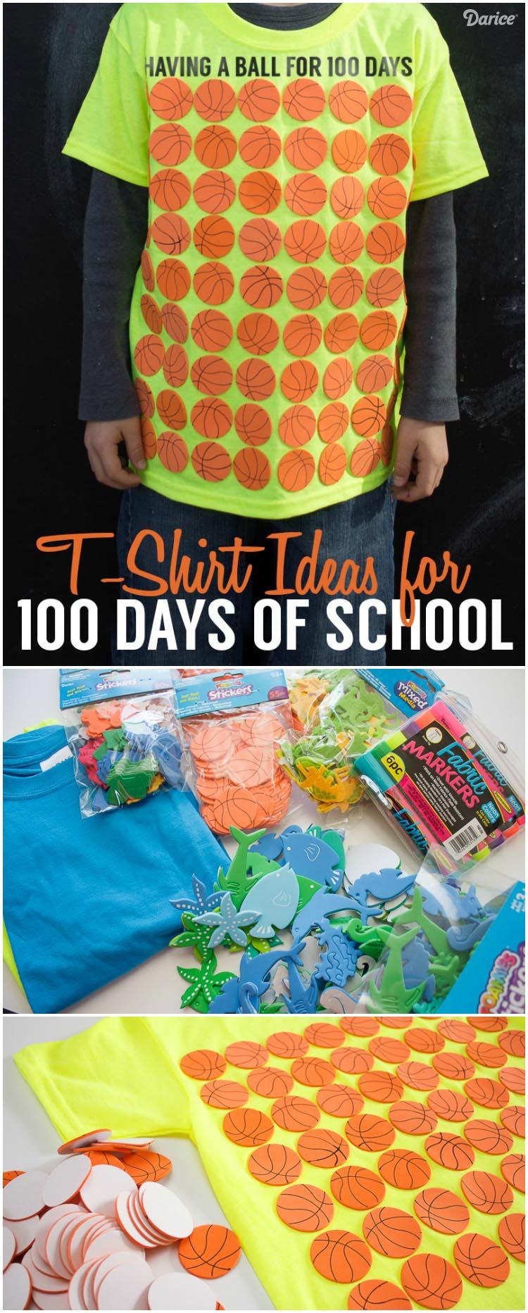 T shirt design ideas for schools - 100 Days Of School Shirt Ideas For Students Darice