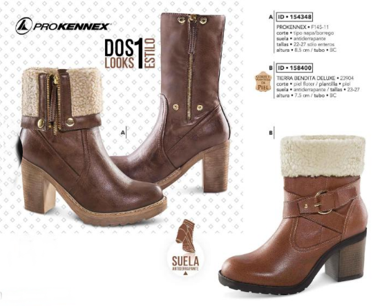 79123cc8 Botas Prokennex. Botas de 2 estilos, botas de moda para dama, botin de