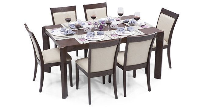 Metropolis Dalla 6 Seater Dining Table Set Dining Table 6