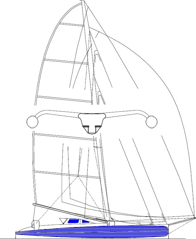 Picture | trimarans | Boat design, Sailboat, Boat