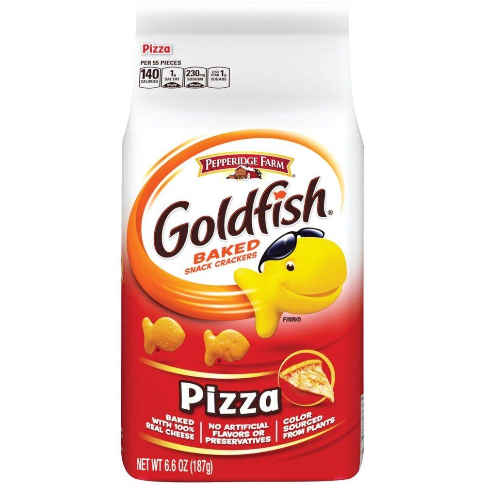 Pepperidge Farm Goldfish Cheddar Crackers 6 6 Oz Bag Walmart Com Pepperidge Farm Goldfish Goldfish Snack Pepperidge Farm