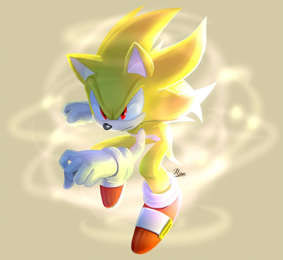 Such Yellow By Myly14 Sonic Sonic The Hedgehog Sonic Fan Art