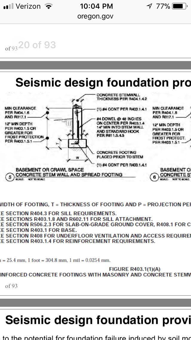 Foundation Seismic Design Foundation Seismic