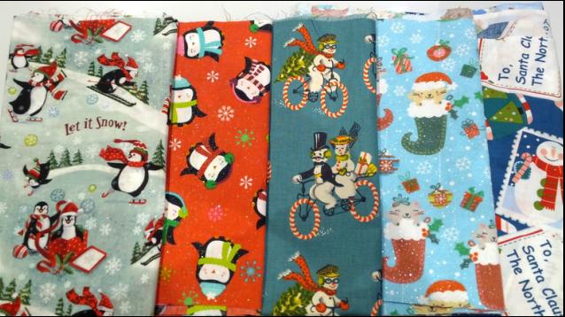 Cute Holiday Fabrics