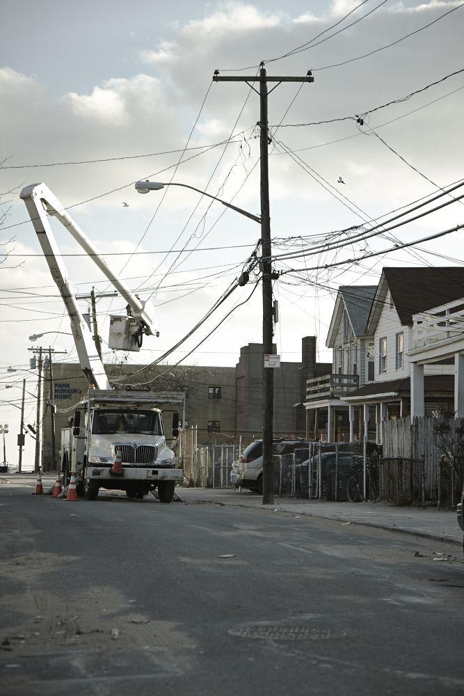 ROCKAWAYS - War Zone After Sandy #stanevansphotography #Sandy #Hurricane #Rockaways #Rockaways Beach #NewYork #NY #Photography #RedCross
