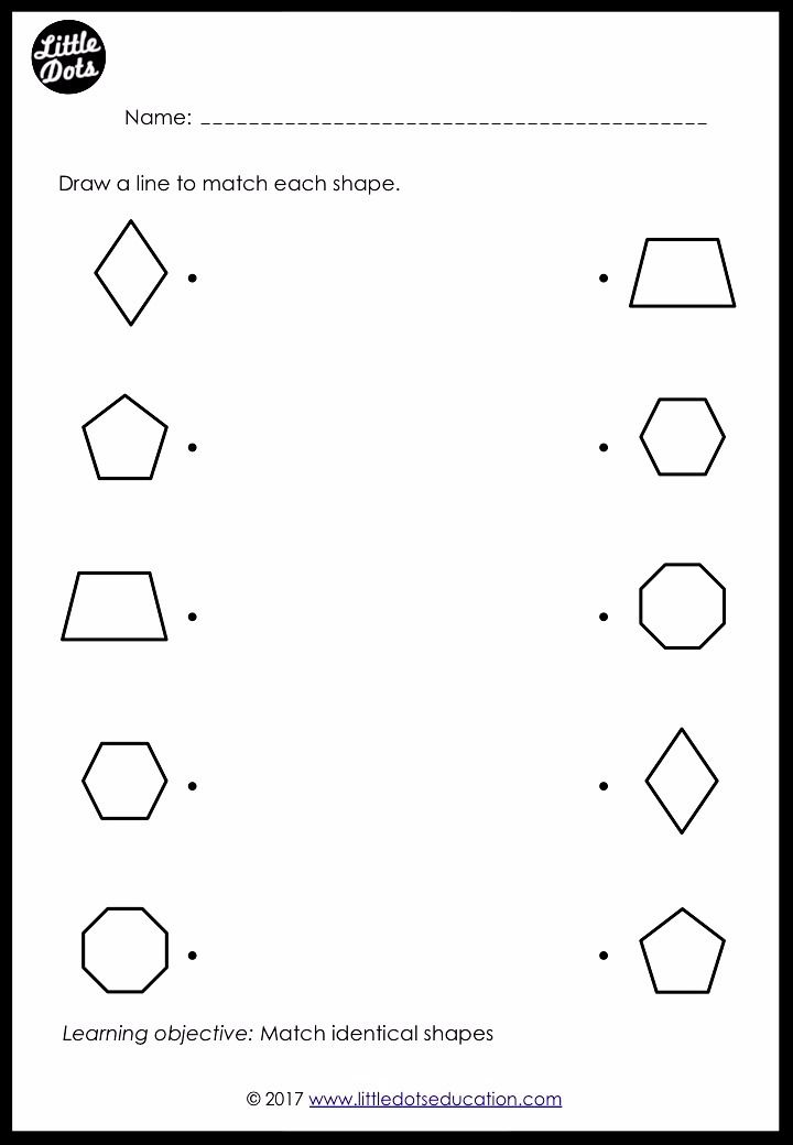 Download Shapes Matching Worksheets And Activities To Help Preschoolers Recognise And Use Simple Shapes Preschool Matching Worksheets Preschool Math Printables Free pre k worksheets shapes