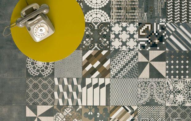 Cementine e piastrelle geometriche interni pinterest tiles
