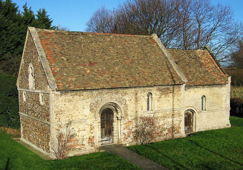 :Leper Chapel Cambridge 12th  century chapel one of the oldest buildings in CambridgeMainly Saxon in style