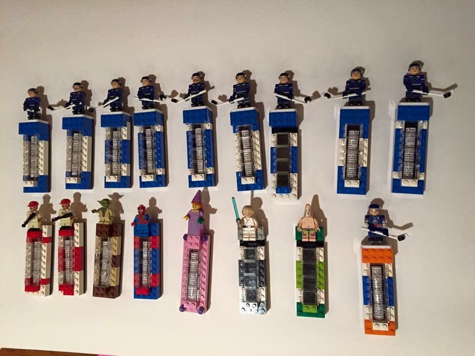 Great gift idea! Mezuzah out of Legos
