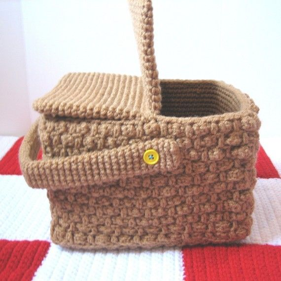 Picnic Basket Play Food Crochet Pattern  by CrochetNPlayDesigns, $6.00