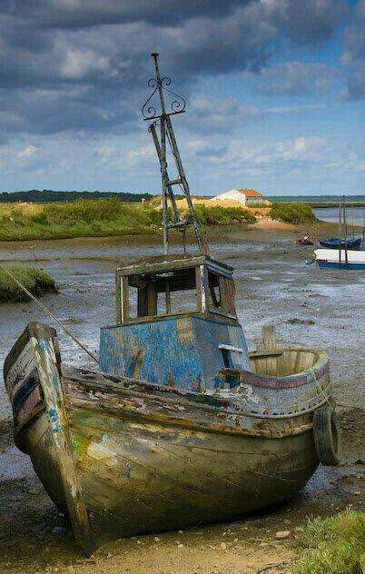 Old Fishing Boat Pinturas De Barcos Paseo En Barco Dibujo De Barco