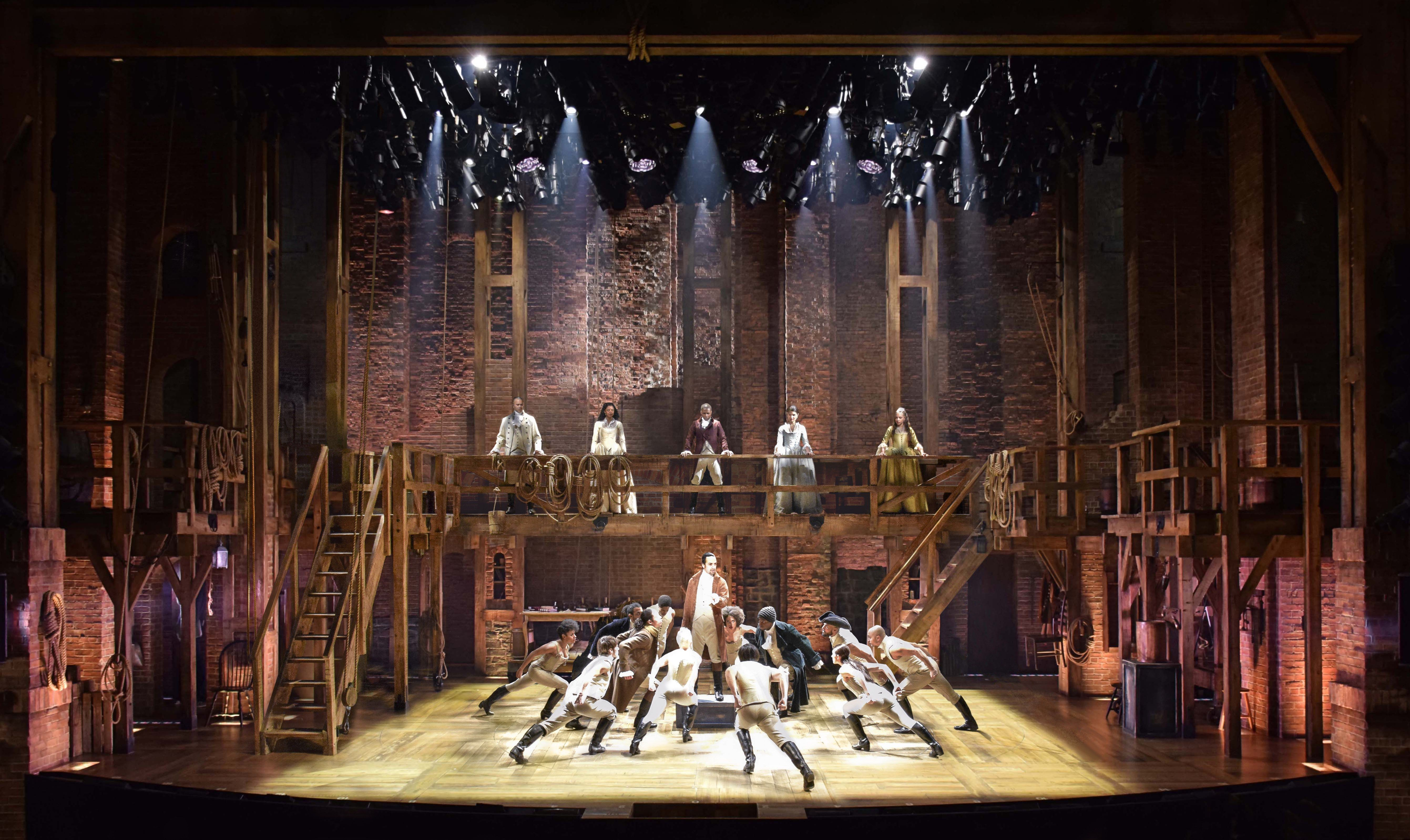 Inside The Studio Of Hamilton Production Designer David