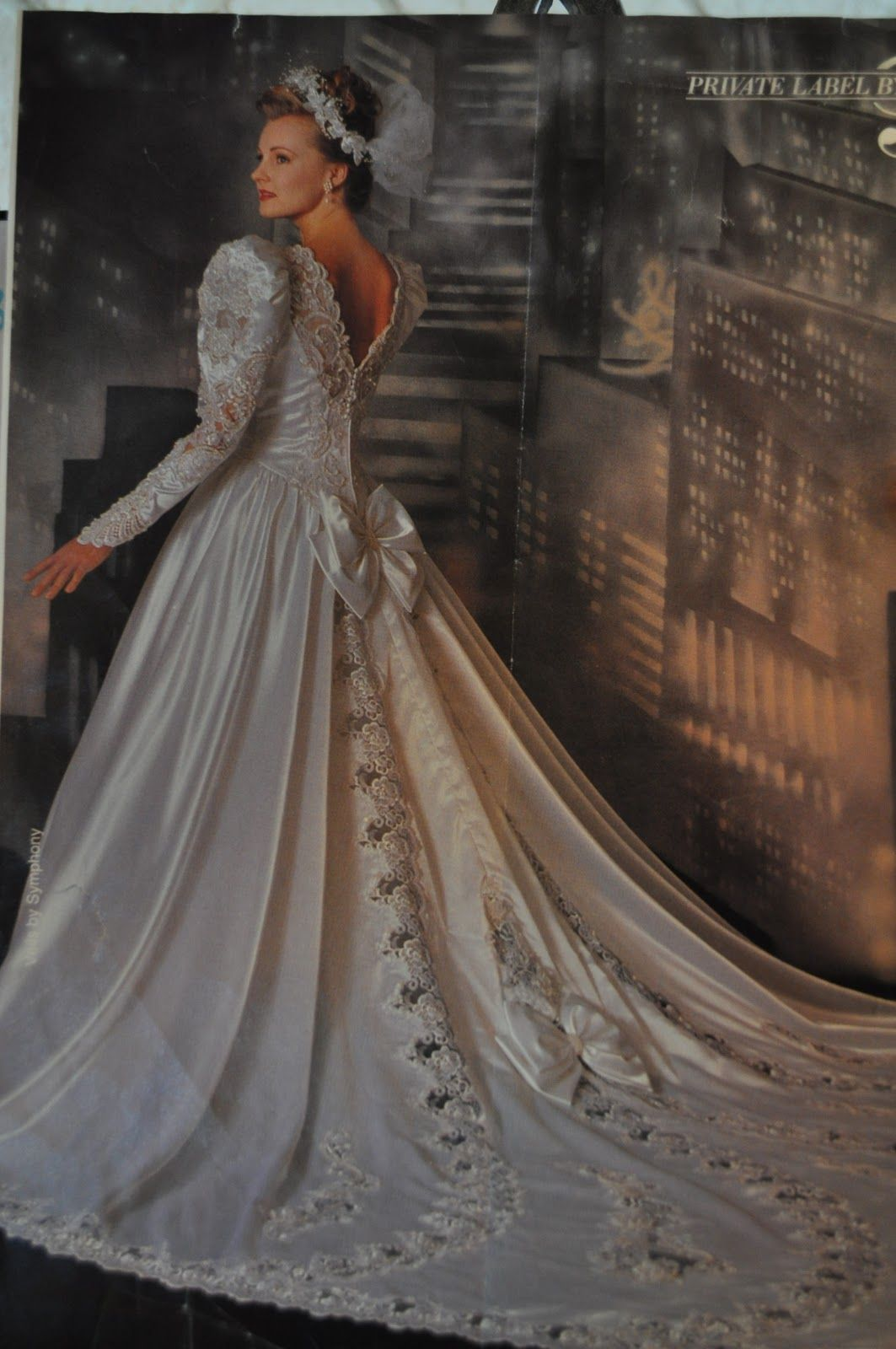 80s wedding gowns theres like 1 million bows on this dress vintage bridal 80s wedding gowns theres like 1 million bows on this ombrellifo Images