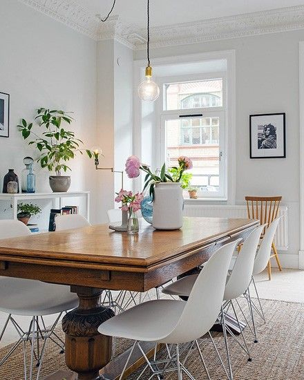 Shake My Blog   Une déco d'appartement en bois et blanc