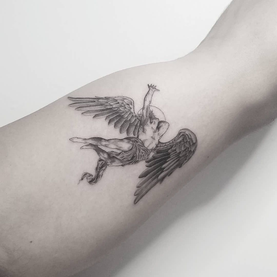 100 Angel Tattoo Ideas for Men and Women - The Body is a Canvas