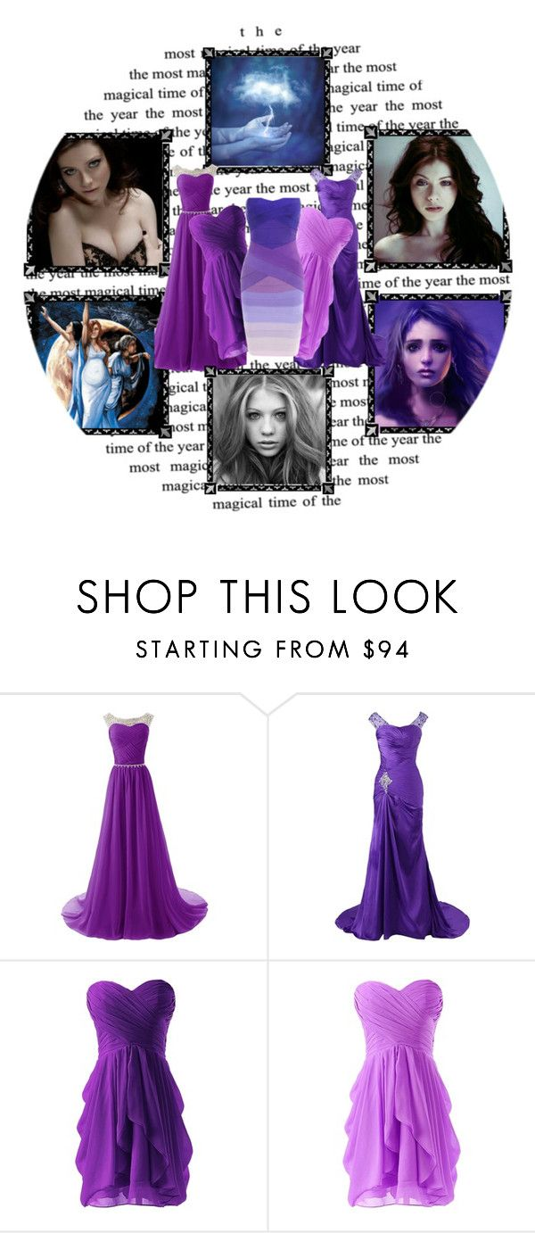 """Olympus Dreamcast:Hecate"" by nyssa-fire ❤ liked on Polyvore"