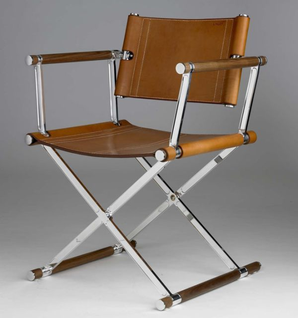 classic chair made from aircraft grade aluminum and