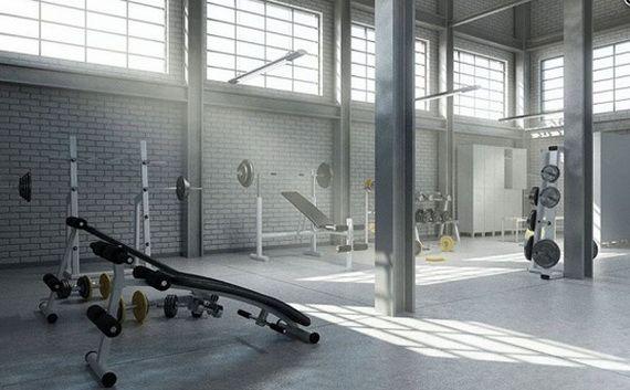 Modern Home Gym Designs Gym design Gym and Modern