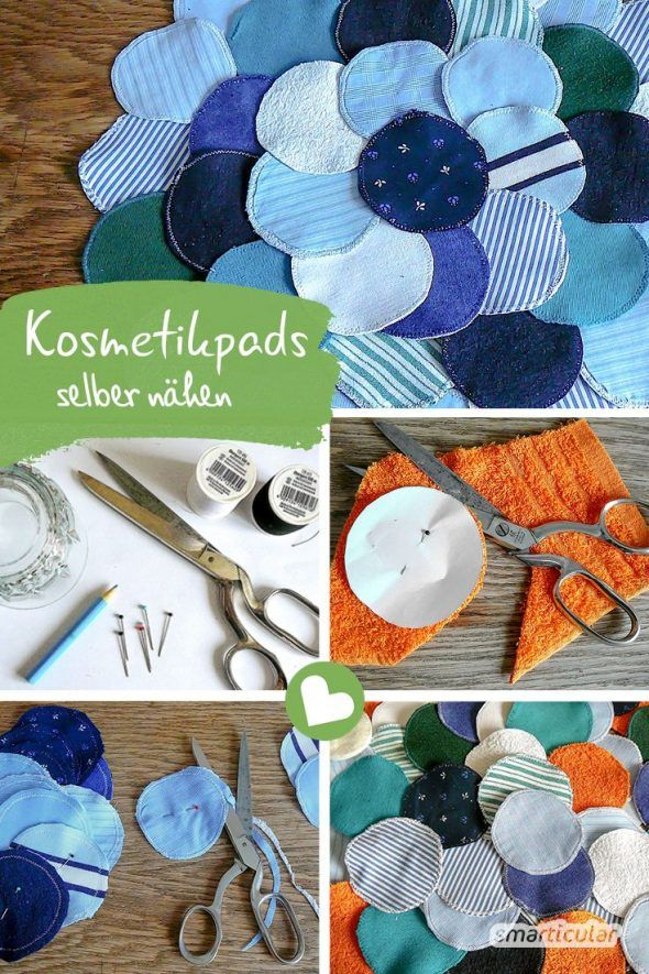 Photo of Reusable cosmetic pads – creative and sustainable