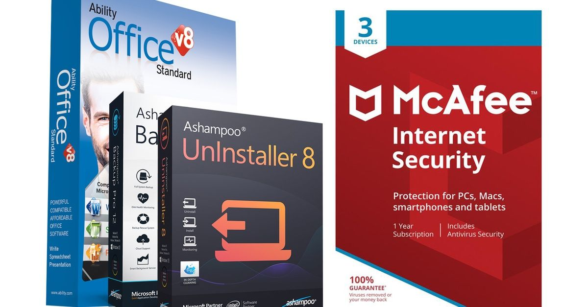 Mcafee Security Ability Office And Ashampoo Utility Bundle