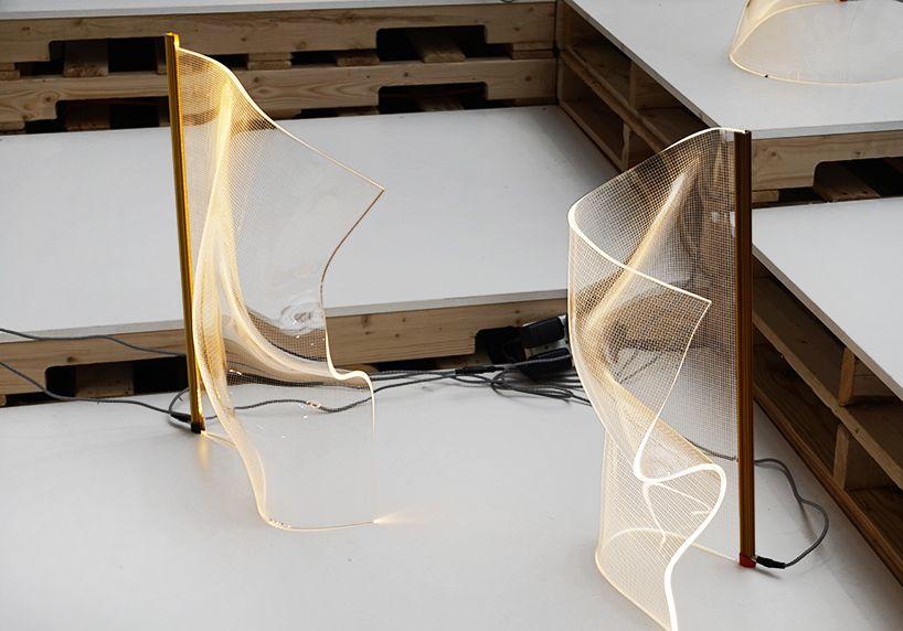 Partisans Heats Up Ids Toronto With Gweilo Light Sculpting Factory Interior Design Shows Lamp Design Decor