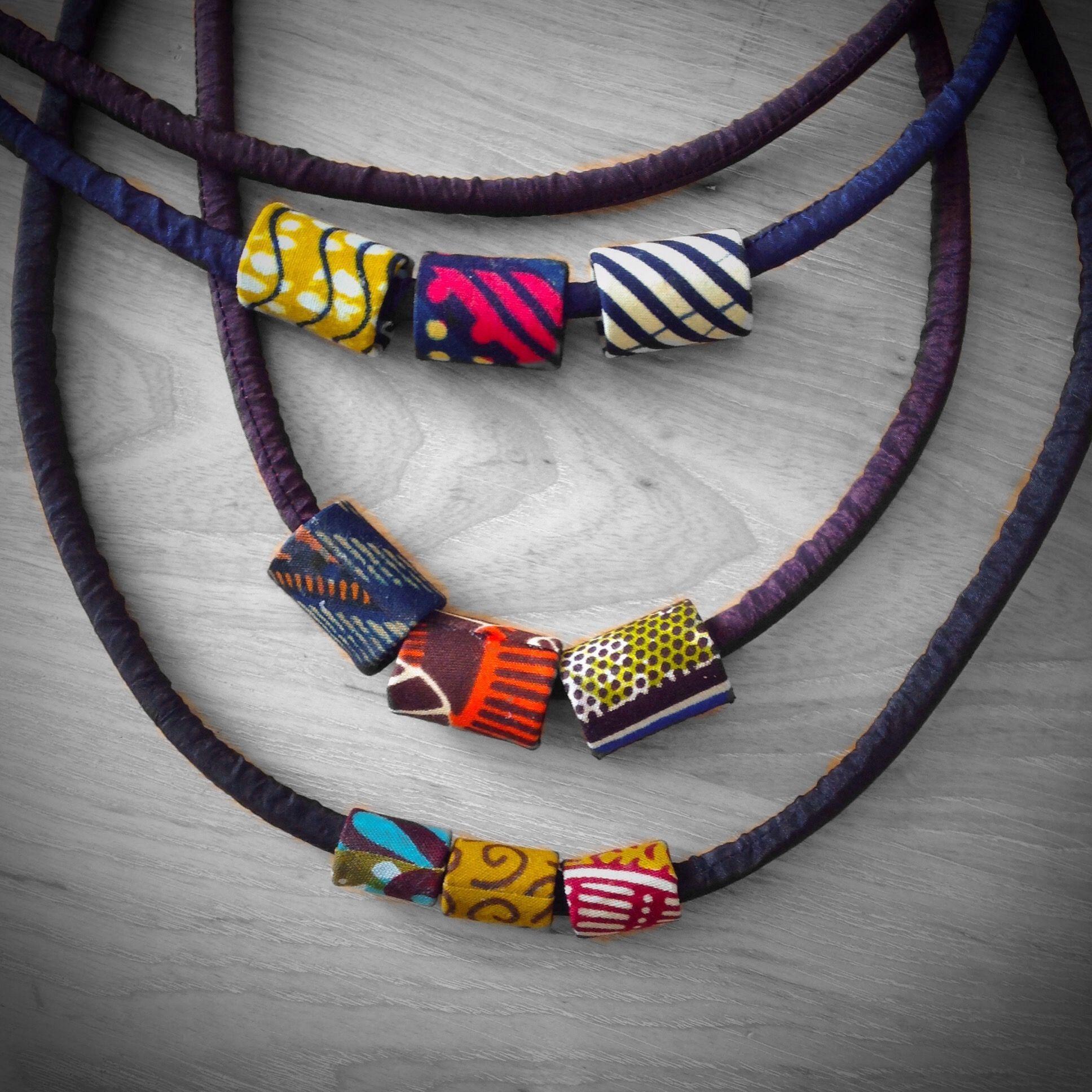 Pin von Nespressita auf african fabric jewelry   Pinterest