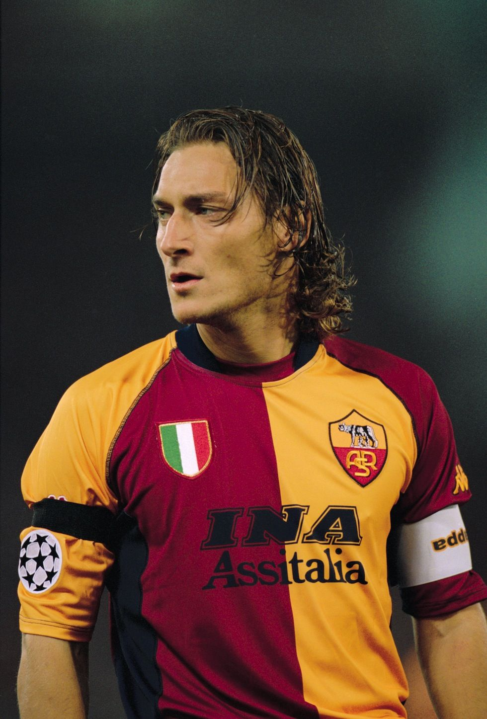 Totti the legend never dies